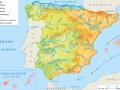 Mapa de ríos de España